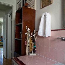Фотография: Ванная в стиле Восточный, Квартира, Дома и квартиры, Лос-Анджелес – фото на InMyRoom.ru