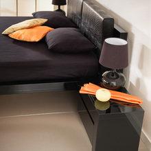 Фото из портфолио Чёрная глянцевая кровать Jacqueline j106b – фотографии дизайна интерьеров на INMYROOM