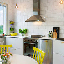 Фото из портфолио Как вам жёлтые стулья?) – фотографии дизайна интерьеров на InMyRoom.ru
