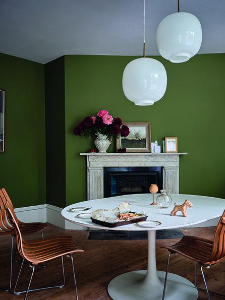 Фотография: Гостиная в стиле Эклектика, Декор интерьера, Farrow & Ball – фото на INMYROOM