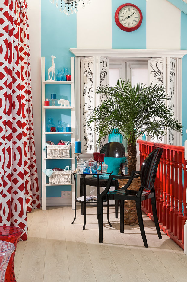 Фотография: Мебель и свет в стиле Эклектика, Квартира, Дома и квартиры – фото на InMyRoom.ru