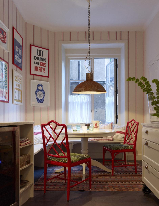 Фотография: Кухня и столовая в стиле Прованс и Кантри, Современный, Декор интерьера, Мебель и свет – фото на InMyRoom.ru