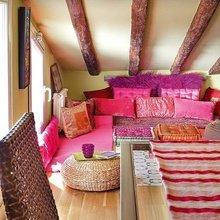 Фотография: Гостиная в стиле Кантри, Восточный, Дом, Чердак, Мансарда – фото на InMyRoom.ru