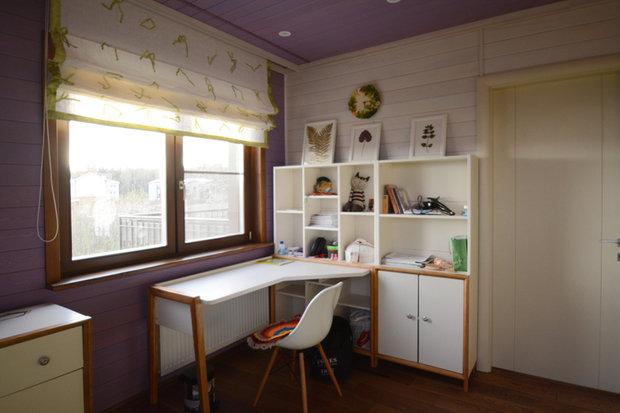 Фото из портфолио Деревянный дом в деревне Жилино – фотографии дизайна интерьеров на INMYROOM