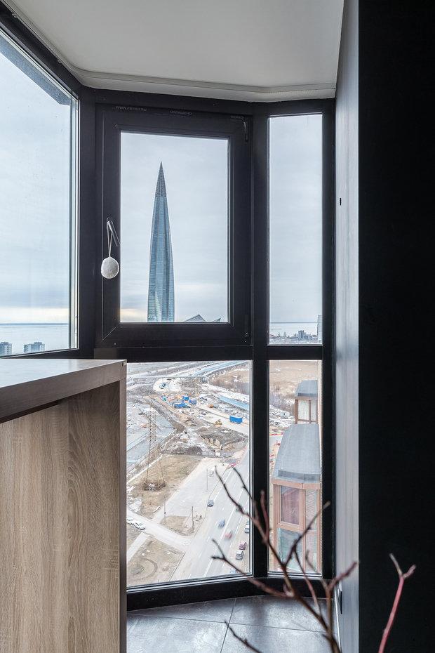 Фотография: Балкон в стиле Современный, Лофт, Квартира, Проект недели, Санкт-Петербург, 1 комната, 40-60 метров, Алла Кущева – фото на INMYROOM
