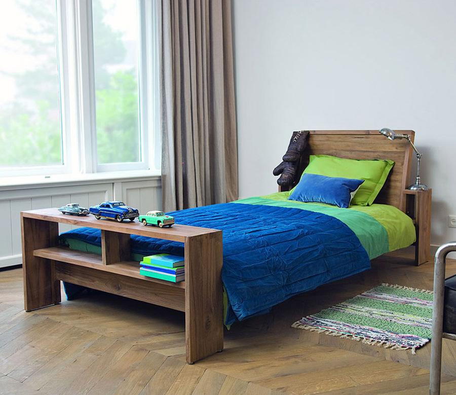 Кровать d-Bodhi Fiss из массива тика 90x200