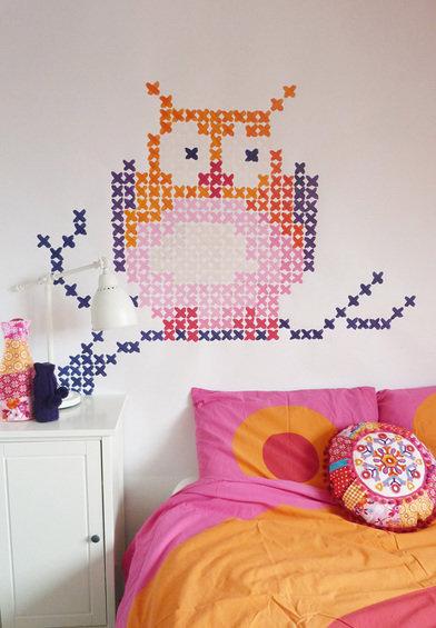 Фотография: Детская в стиле Современный, Декор интерьера, DIY, Роспись – фото на InMyRoom.ru