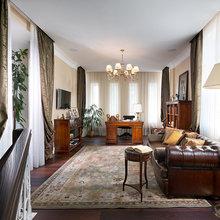 Фотография: Гостиная в стиле Классический, Квартира, Дома и квартиры, Пентхаус – фото на InMyRoom.ru