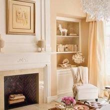 Фотография: Гостиная в стиле Кантри, Декор интерьера, Квартира, Дом, Декор дома, Люди, Картины – фото на InMyRoom.ru