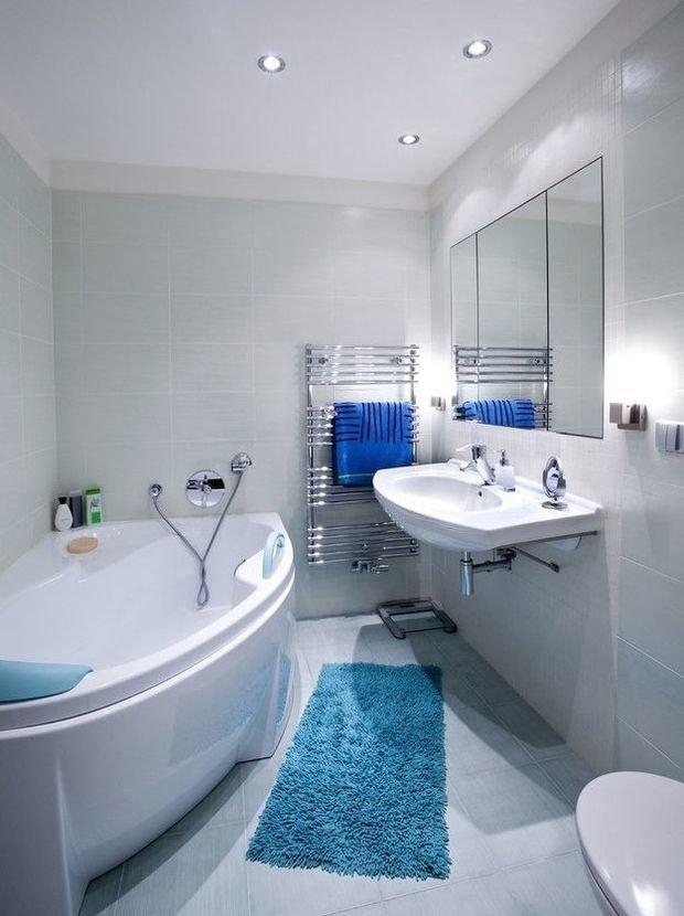 Фотография:  в стиле , Ванная, Советы, Ремонт на практике, Дарья Михайлова, потолок в ванной, натяжные потолки в ванной, как установить подвесной потолок в ванной, реечный потолки для ванной, пластиковые панели в ванной – фото на InMyRoom.ru