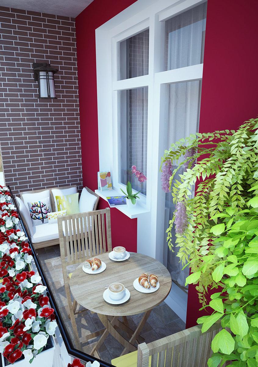 Фотография: Балкон, Терраса в стиле Современный, Скандинавский, Квартира, Дома и квартиры, IKEA, Проект недели – фото на InMyRoom.ru