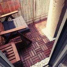 Фотография: Балкон в стиле Эко, Кантри, Квартира, Декор, Советы, как обустроить открытый балкон, городской балкон, открытый балкон, идеи для открытого балкона – фото на InMyRoom.ru
