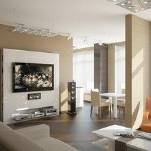 Фото из портфолио Квартира 145 кв.м. в современном стиле. – фотографии дизайна интерьеров на INMYROOM