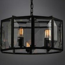Подвесной светильник Rotate с хрустальными вставками