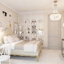 Фотография: Спальня в стиле Кантри, Эклектика, Квартира, Дома и квартиры, Надя Зотова – фото на InMyRoom.ru