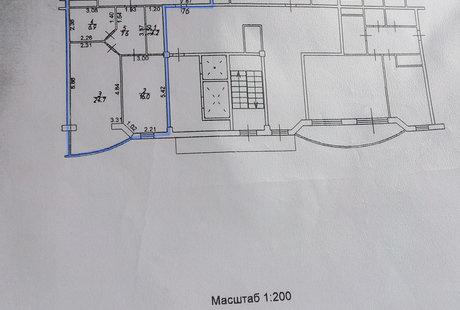 Объединение коридора, комнаты и санузла / снос стен