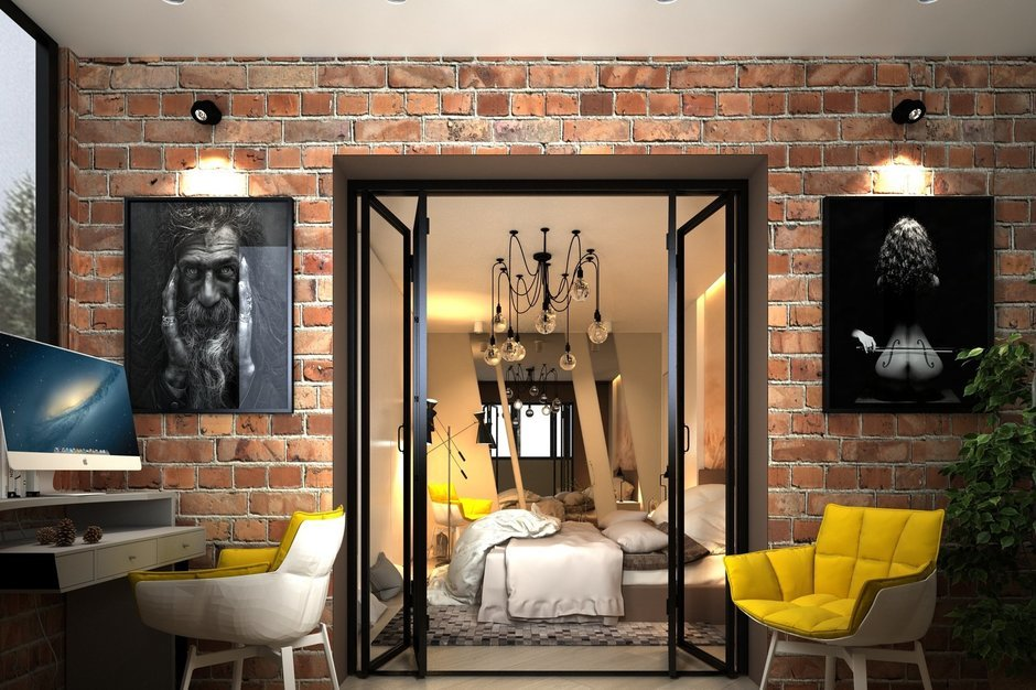 Фотография:  в стиле , Квартира, Минимализм, Проект недели, Катерина Бачурина – фото на InMyRoom.ru