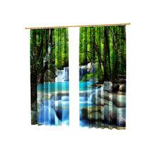 Шторы с фотопечатью: Райский водопад