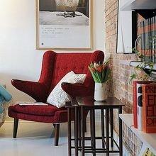 Фотография: Гостиная в стиле Скандинавский, Декор интерьера, Декор дома, Картины, Современное искусство – фото на InMyRoom.ru