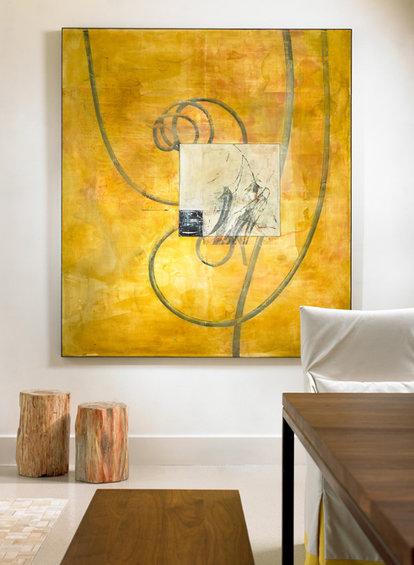 Фотография: Декор в стиле Современный, Эко, Эклектика, Дом, США, Дизайн интерьера, Неон – фото на INMYROOM