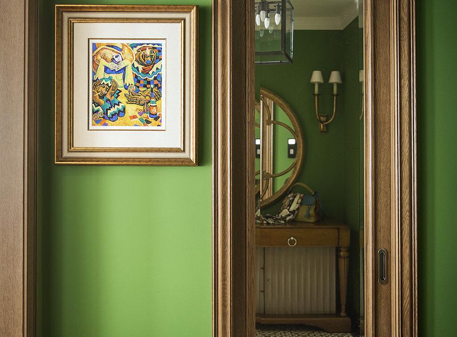 Фотография: Прихожая, Прочее в стиле Прованс и Кантри, Квартира, Дома и квартиры, Проект недели – фото на InMyRoom.ru