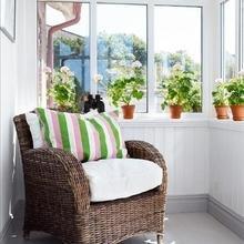 Фотография: Балкон в стиле Кантри, Интерьер комнат – фото на InMyRoom.ru