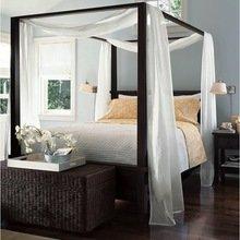 Фотография: Спальня в стиле Восточный, Декор интерьера, Мебель и свет, Балдахин – фото на InMyRoom.ru