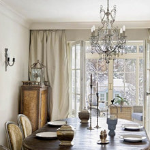 Фотография: Кухня и столовая в стиле Кантри, Дом, Франция, Дома и квартиры, Окна – фото на InMyRoom.ru