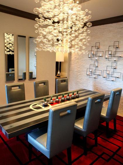 Фотография: Мебель и свет в стиле Эклектика, Декор интерьера, Декор дома, Цвет в интерьере, Обои – фото на InMyRoom.ru