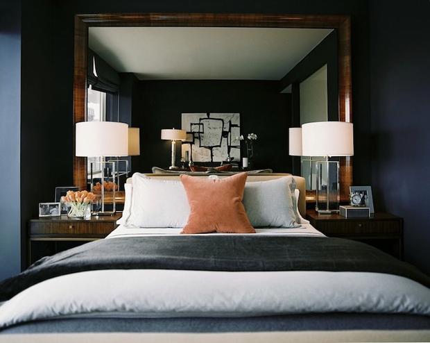 Фотография: Спальня в стиле Хай-тек, Интерьер комнат – фото на InMyRoom.ru