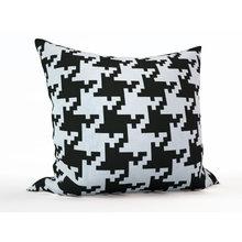 Декоративная подушка: Гусиная лапка