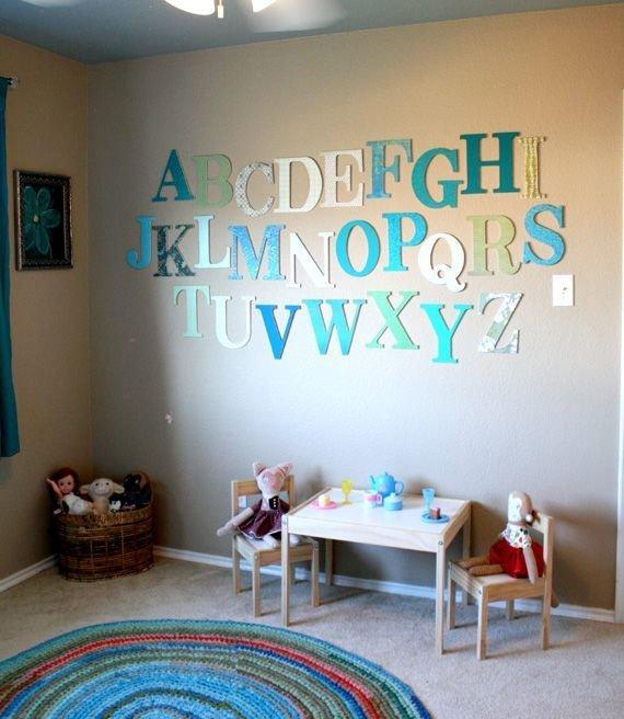 Фотография: Детская в стиле Современный, Декор интерьера, Интерьер комнат, Обои – фото на InMyRoom.ru