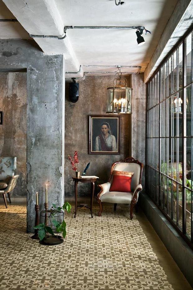 Фотография: Гостиная в стиле Лофт, Эклектика, Декор интерьера, Декор – фото на InMyRoom.ru
