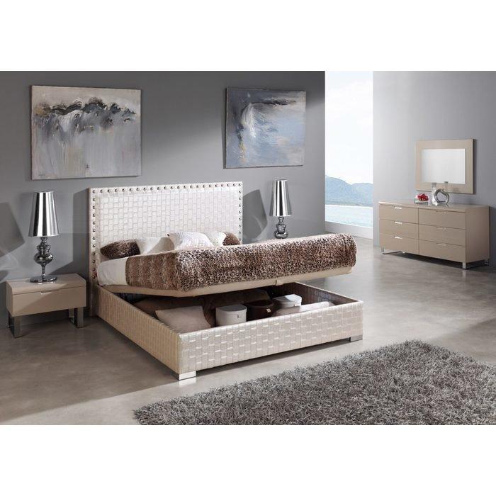 Кровать MANHATTAN с высоким изголовьем 160x200 см