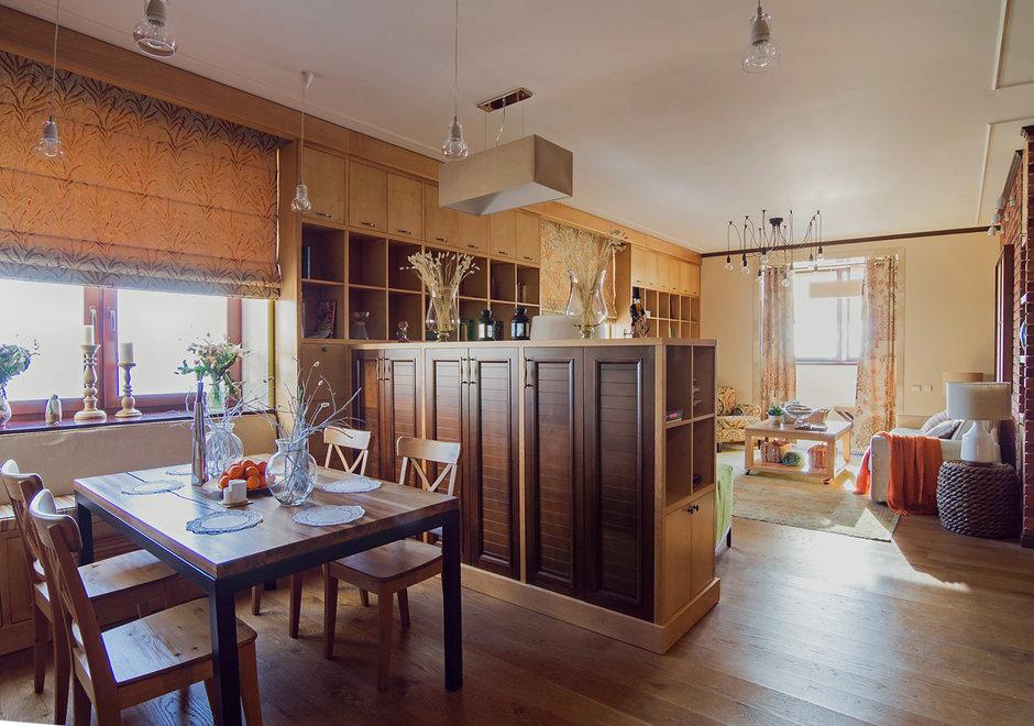 Фотография: Кухня и столовая в стиле Прованс и Кантри, Лофт, Квартира, Дома и квартиры – фото на InMyRoom.ru