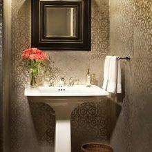 Фотография: Ванная в стиле Классический, Современный, DIY, Квартира, Переделка, Ремонт на практике, экспресс-ремонт, экспресс-ремонт ванной, экспресс-ремонт санузла, как быстро сделать ремонт в санузле – фото на InMyRoom.ru