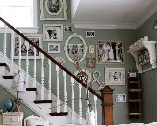 Фотография: Декор в стиле Прованс и Кантри, Декор интерьера, Декор дома, Цвет в интерьере, Обои – фото на InMyRoom.ru