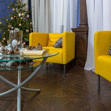"""Фото из портфолио """"Спальня в синих тонах"""" для программы """"Фазенда"""" – фотографии дизайна интерьеров на InMyRoom.ru"""