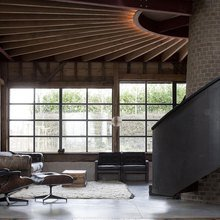 Фото из портфолио Реконструкция заброшенного сарая в Великобритании – фотографии дизайна интерьеров на InMyRoom.ru