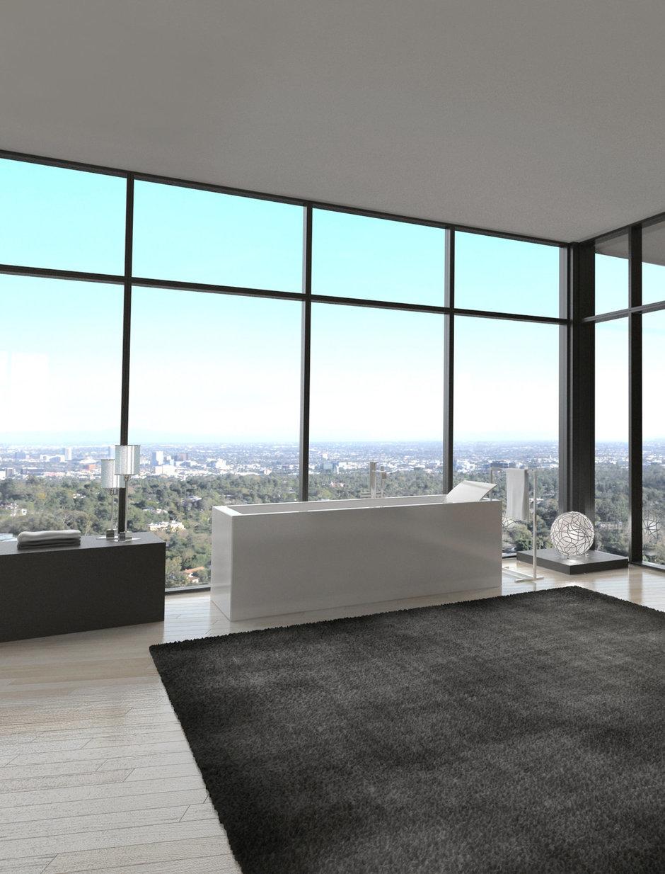 Фотография: Ванная в стиле Лофт, Современный, Интерьер комнат – фото на InMyRoom.ru
