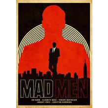 Принт Mad Men A1