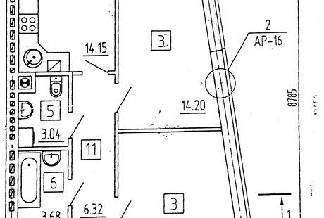 Помогите с перепланировкой 2-х комнатной квартиры .