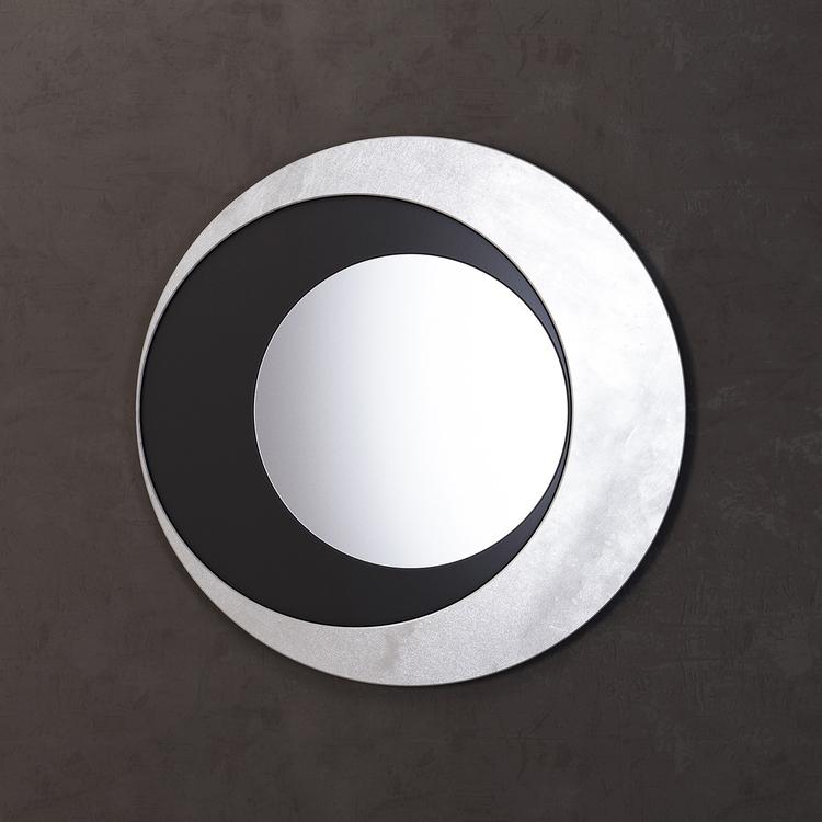 Купить Зеркало Moon в круглой раме, inmyroom, Россия