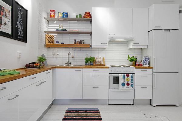 Фотография: Кухня и столовая в стиле Скандинавский, Квартира, Аксессуары, Декор, Мебель и свет, Ремонт на практике, Гид – фото на InMyRoom.ru