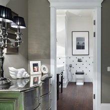 Фотография: Ванная в стиле Современный, Квартира, Текстиль, Дома и квартиры – фото на InMyRoom.ru