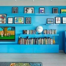Фотография: Детская в стиле Кантри, Эклектика, Квартира, Дома и квартиры, Нью-Йорк – фото на InMyRoom.ru