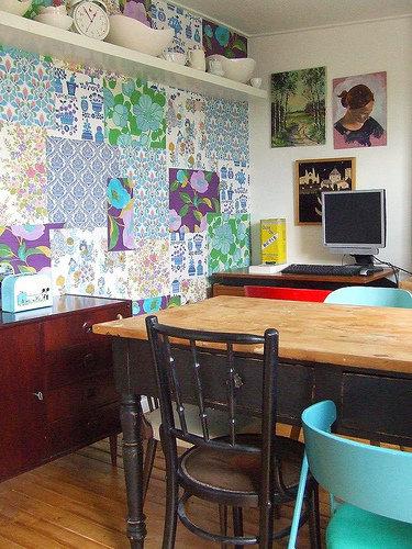 Фотография: Кухня и столовая в стиле Прованс и Кантри, Декор интерьера, Текстиль, Декор, Декор дома, Пэчворк – фото на InMyRoom.ru