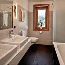 Фотография: Ванная в стиле Скандинавский, Дом, Дома и квартиры – фото на InMyRoom.ru