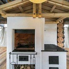 Фотография: Кухня и столовая в стиле Кантри, Современный, Дачный ответ – фото на InMyRoom.ru