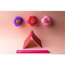 Магнит для скрепок blossom розовый
